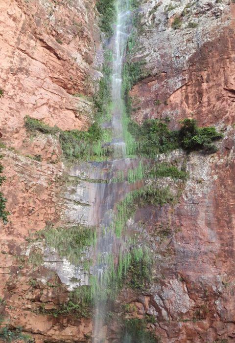 La Cascada Encantada, El Portón, Roboré, Chiquitanía