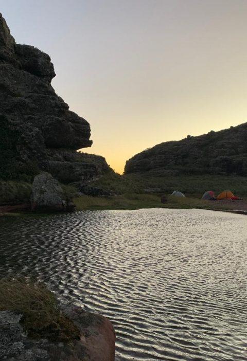 Laguna, El Portón, Roboré, Chiquitanía